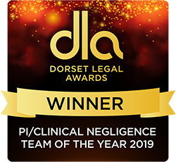 dorset legal awards 2019 Trethowans Personal Injury team Bournemouth