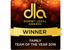 dorset legal awards 2019 Trethowans Family solicitors team salisbury