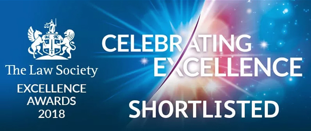 Trethowans shortlisted private client excellence award